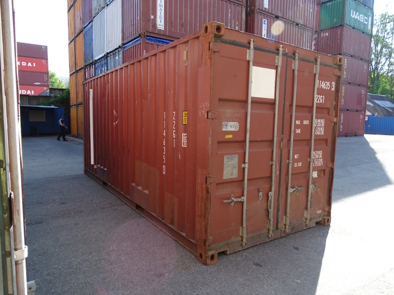 20 ft lagercontainer seecontainer berseecontainer materialcontainer gebraucht ebay. Black Bedroom Furniture Sets. Home Design Ideas