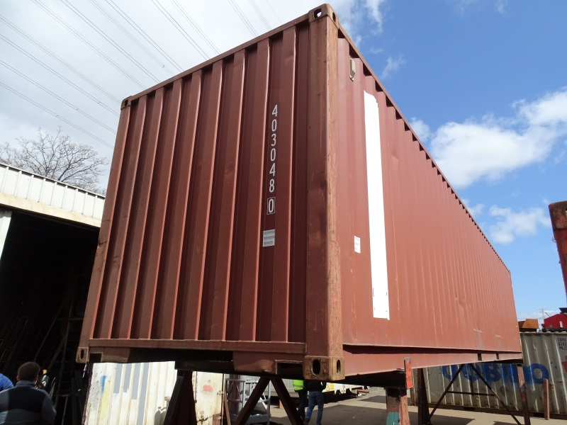 40 ft lagercontainer seecontainer reifencontainer. Black Bedroom Furniture Sets. Home Design Ideas